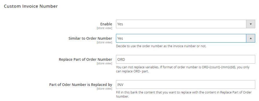 Magento 2 Custom Order Number Module