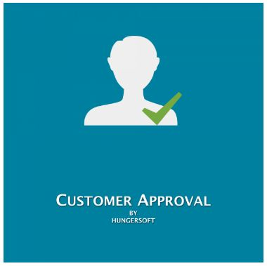 Magento 2 Customer Approval Extension