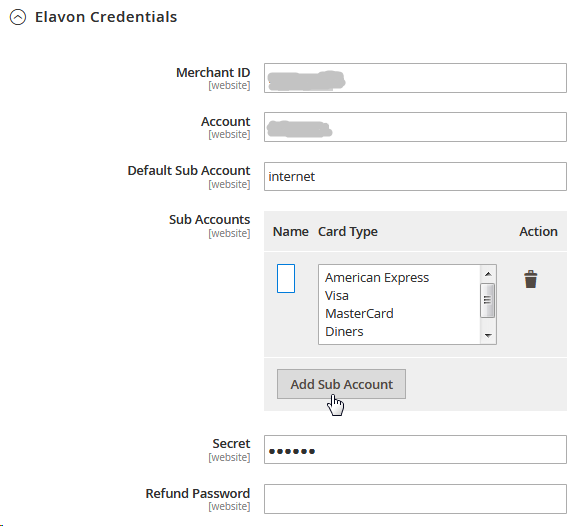 Magento 2 Elavon Payment Extension