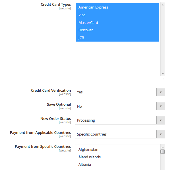Magento 2 Payment Gateway Extension