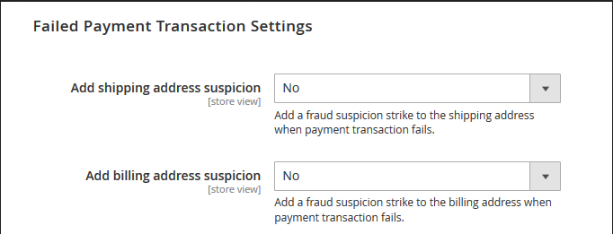 Magento 2 Fraud Prevention Extension