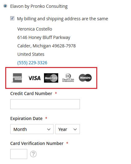 Magento 2 Elavon Payment Extension