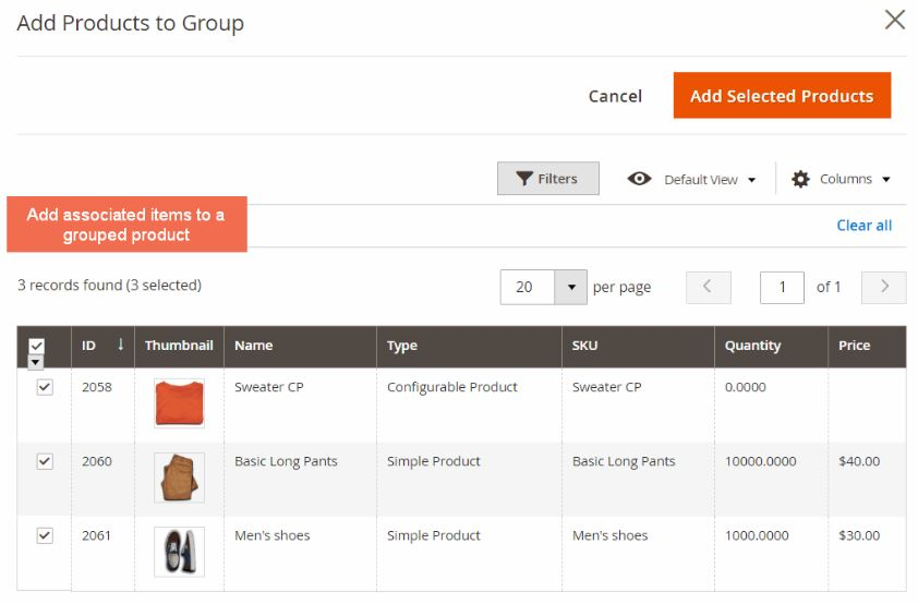 Magento 2 Grouped Product With Custom Options Extension