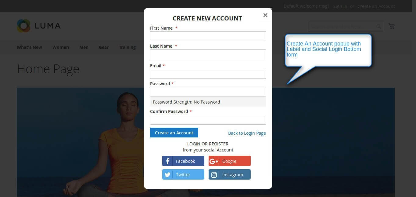 Magento 2 Social Login Extension