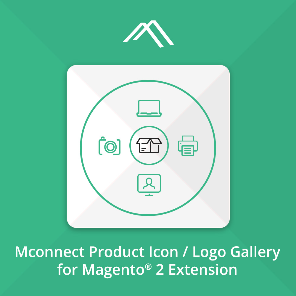 Magento 2 Product Icon Logo Gallery Extension