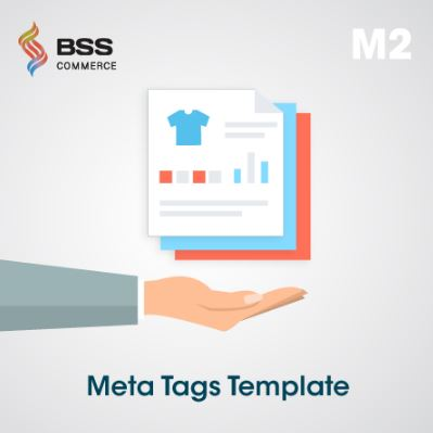 Magento 2 meta tag templates extension