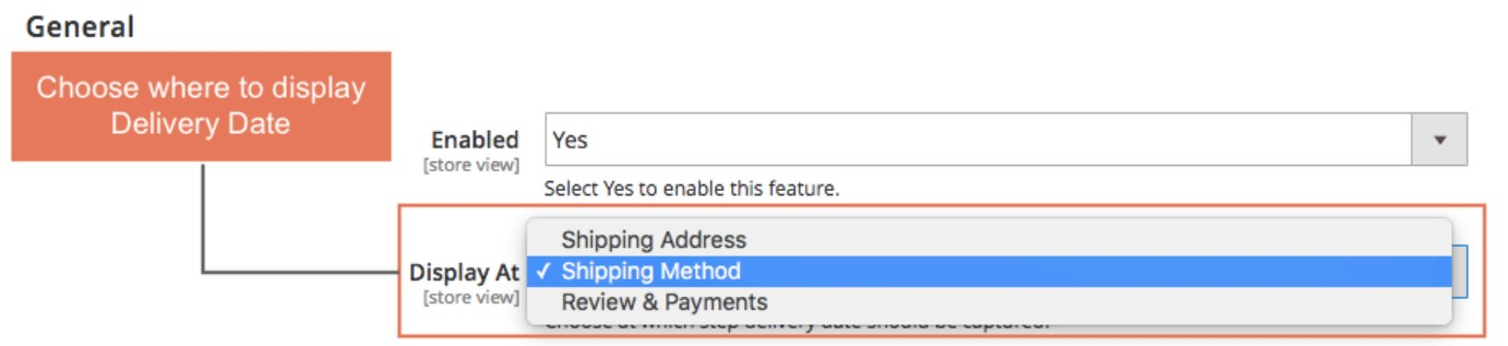 Magento 2 order delivery date Extension