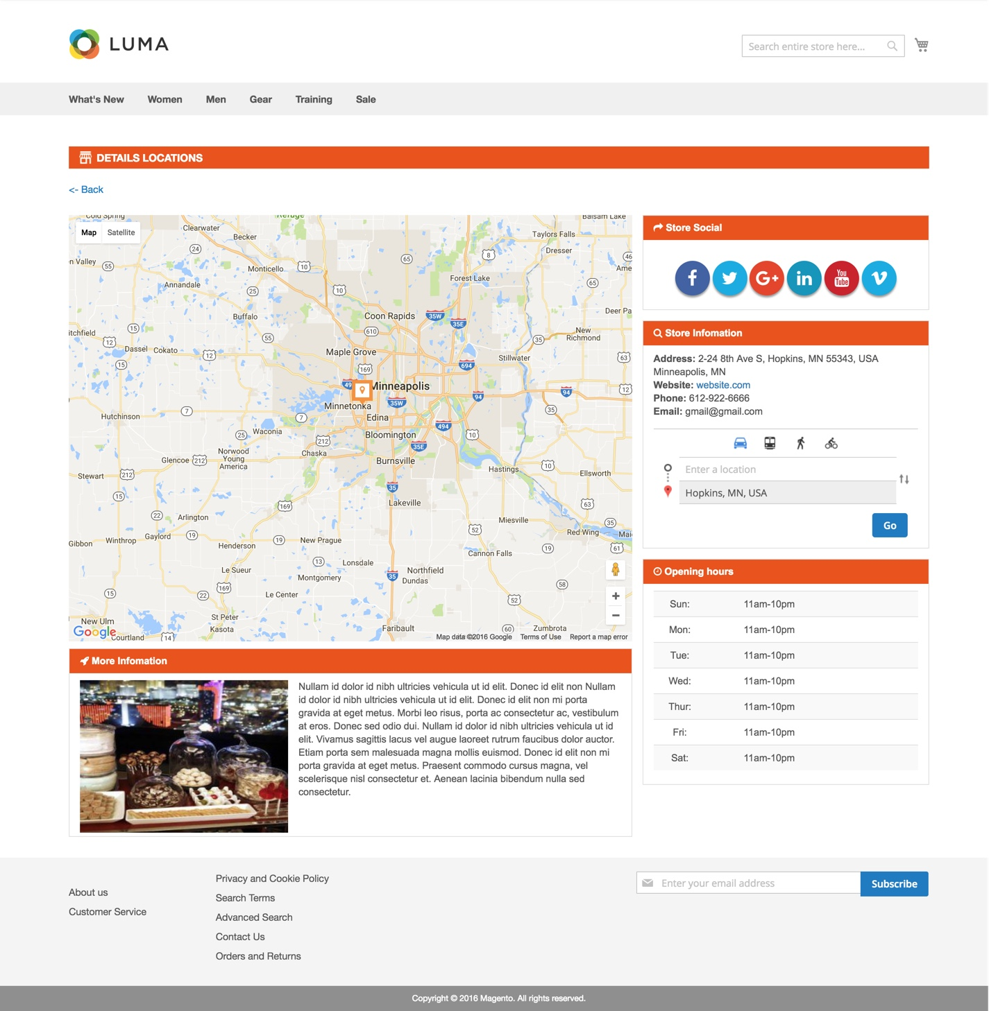 Magento 2 Store Locator extension