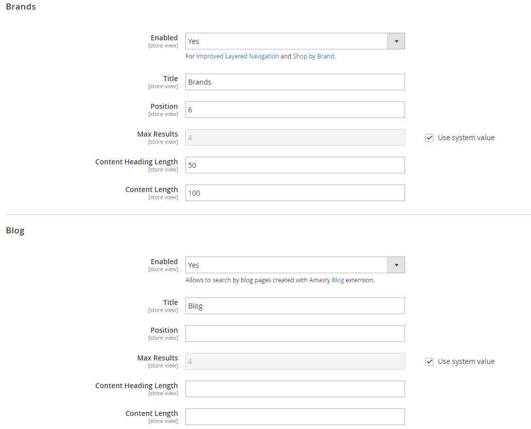 Magento 2 Elasticsearch Extensions Comparison (Amasty