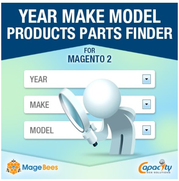 Magento 2 Product Parts Finder Extensions