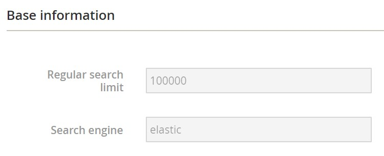Magento 2 Elastic Search extension