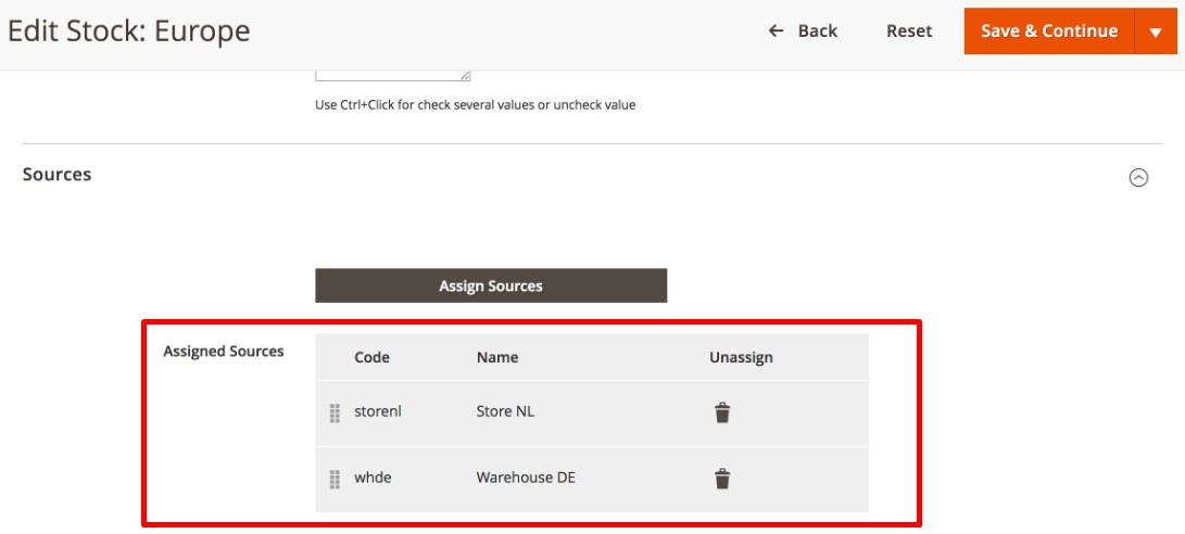 Magento 2 multi Store Inventory