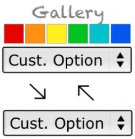 Dependent Custom Options (Gallery) Magento 2 Extension