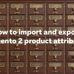 How to import Magento 2 product and custom attributes