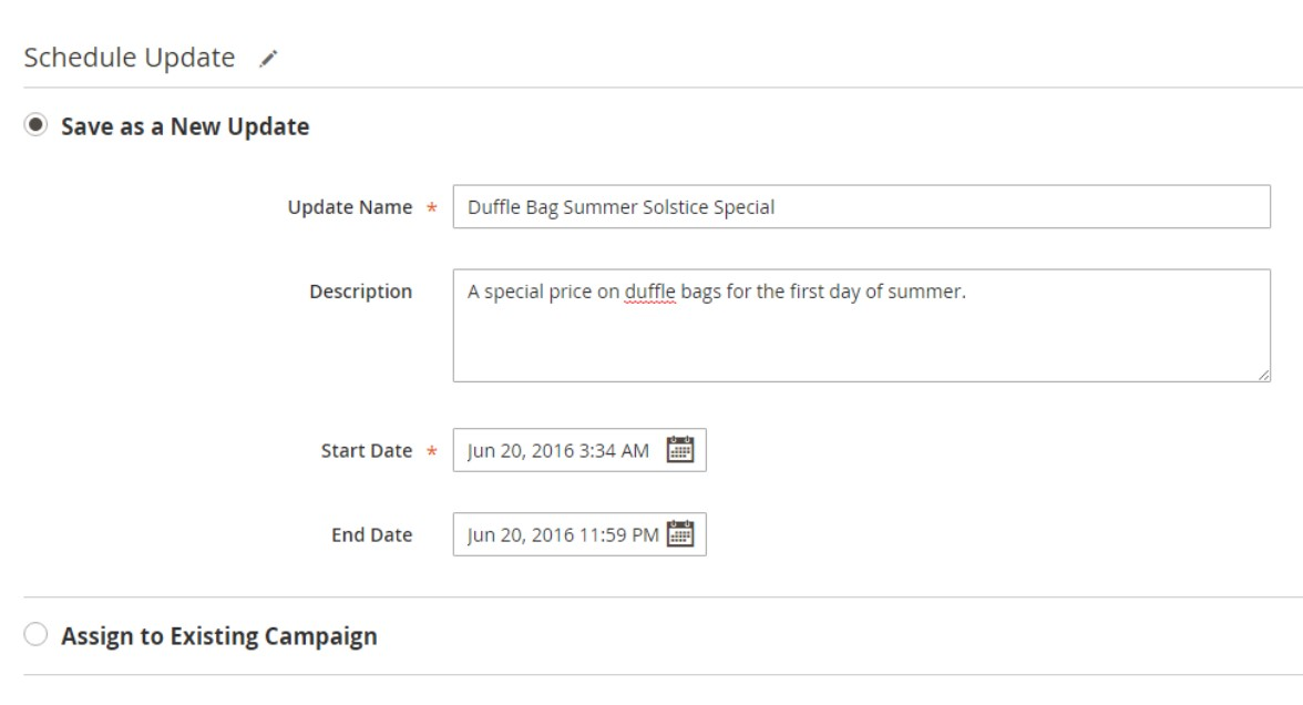 Magento 2 Commerce Content Staging Import Export