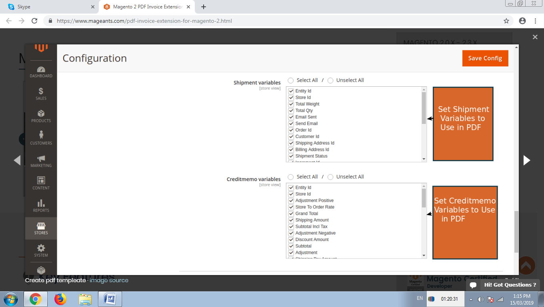 Magento 2 PDF Invoice maker