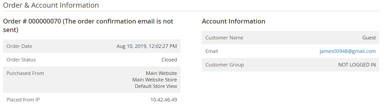 Magento 2 orders create, update, import, export