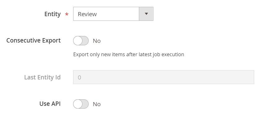 Magento 2 reviews export