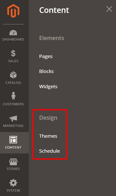 Magento 2 themes and design updates