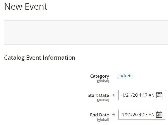 events private sales invitations magento 2