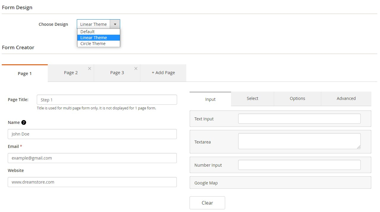 Amasty Magento 2 custom form extension backend
