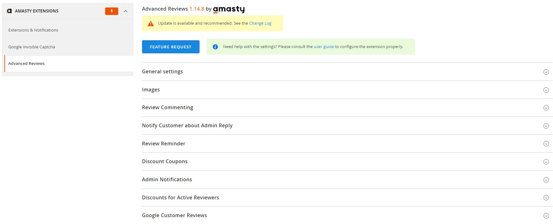 Amasty Advanced Product Reviews Magento 2 extension