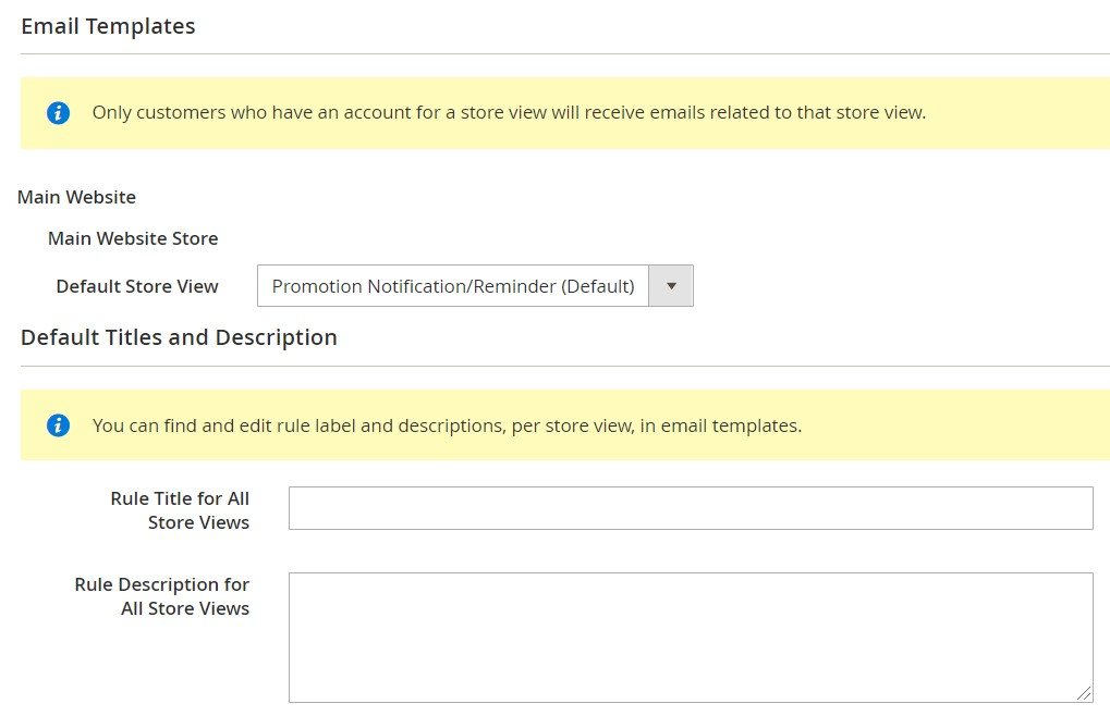 magento 2 email reminders