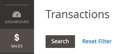 Magento 2 transactions