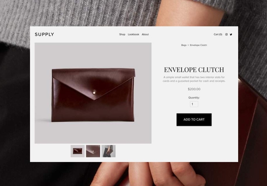 product import and export squarespace