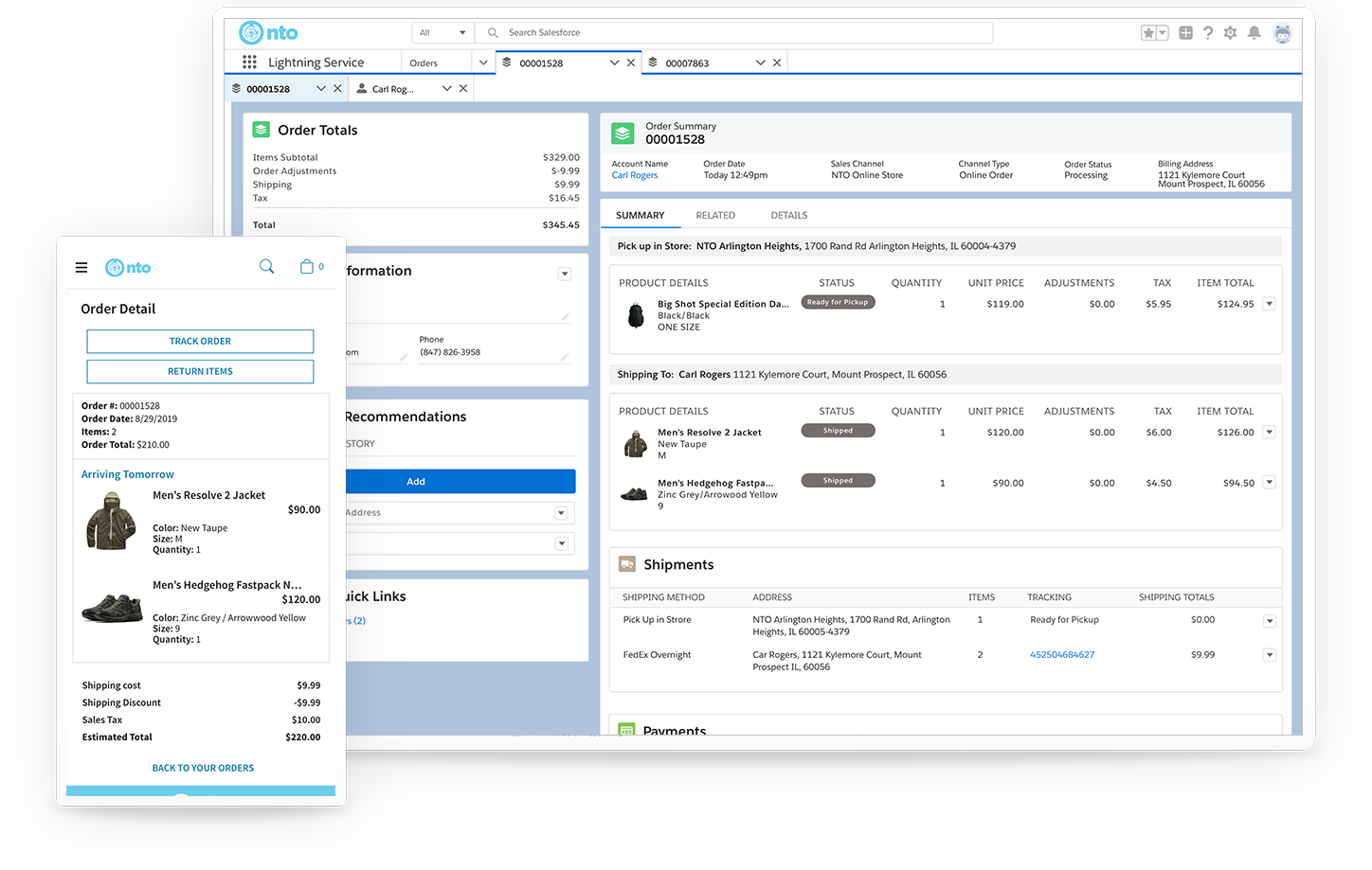 Improved import and export app for salesforce
