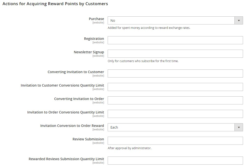 Magento 2 rewards and loyalty