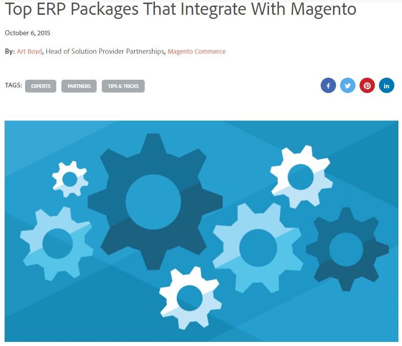 MAgento 2 Commerce Integrations