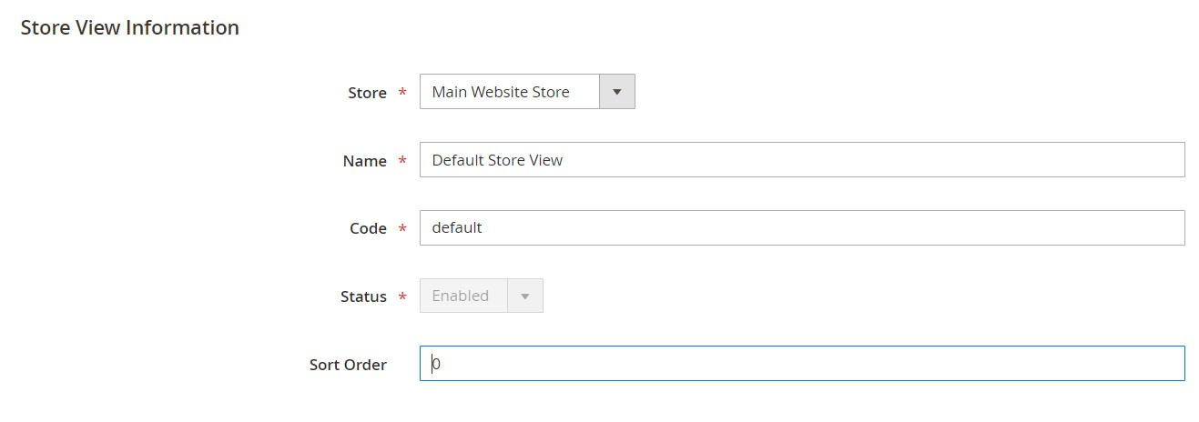 magento 2 backend stores settings