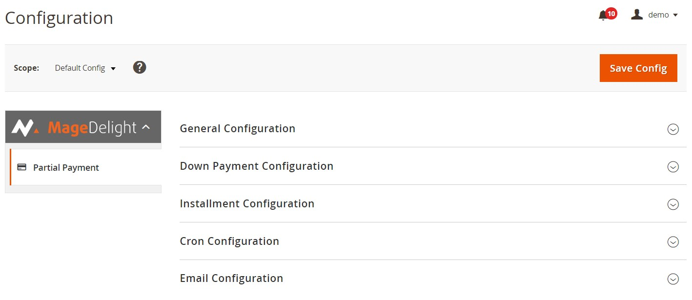 Partial Payment Pro Magento 2 Extension