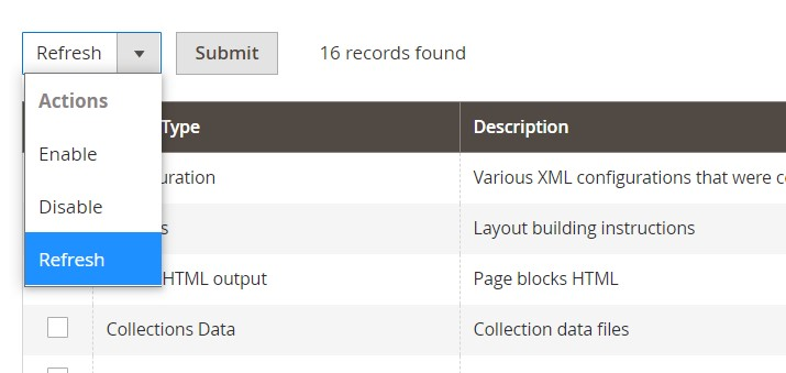 Magento 2 tools cache, index, backup