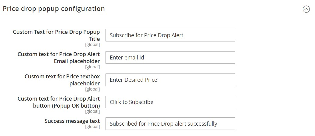MageDelight Price Drop Alert Magento 2 Module backend