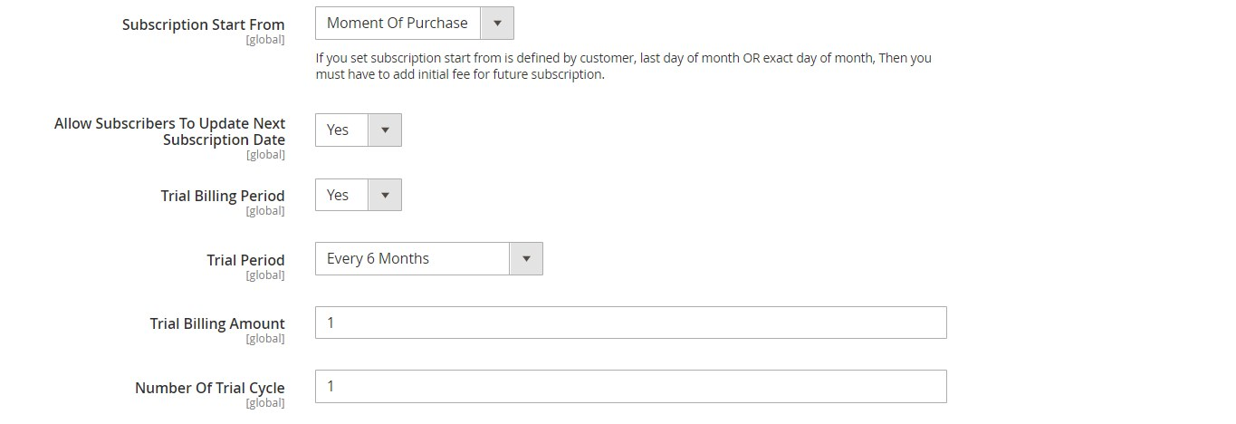 magento subscriptions and recurring payments module