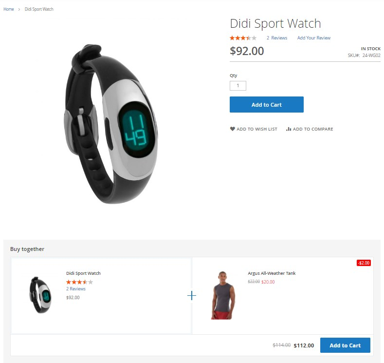 Magento 2 Buy Together Extension review