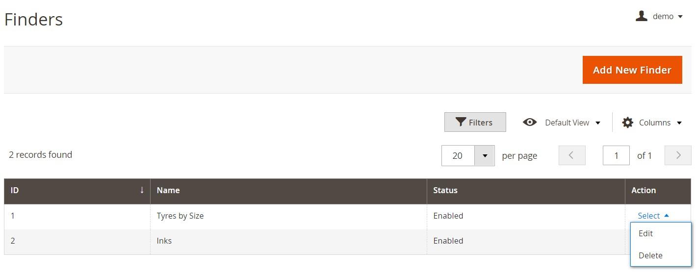 Mirasvit Magento 2 Product Finder Module