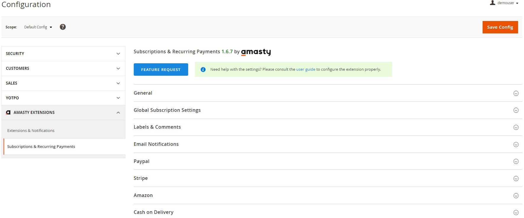 Amasty Subscriptions & Recurring Payments Extension review; Amasty Subscriptions & Recurring Payments Magento 2 module