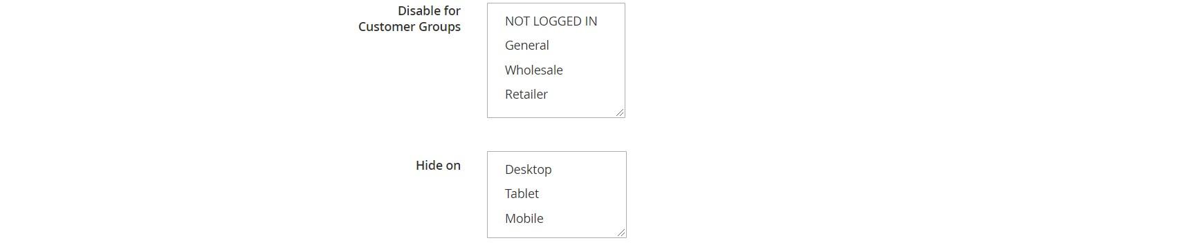 Custom Button Magento 2 module settings