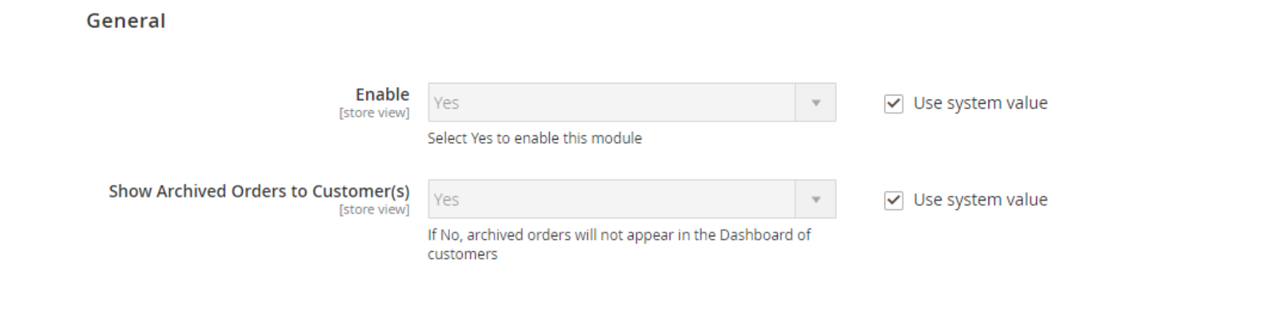 magento 2 order archive extension