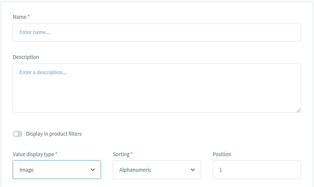 add shopware product properties, assign properties to products
