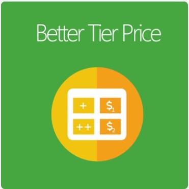 Magento 2 tier price extension