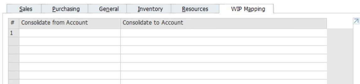SAP business One financial accounting
