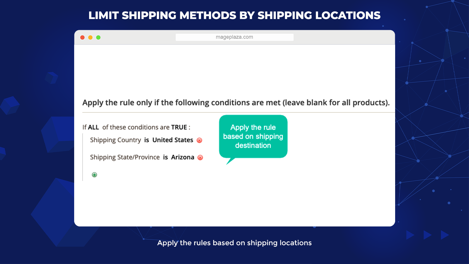 magento 2 shipping restrictions extension