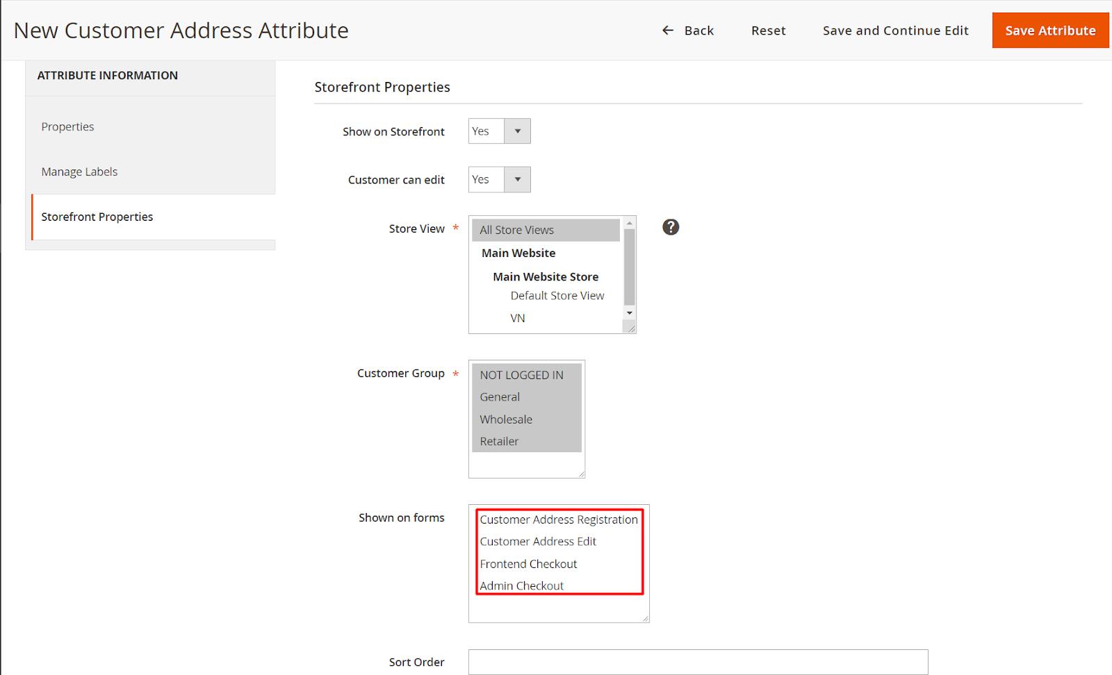 magento 2 customer attributes extension