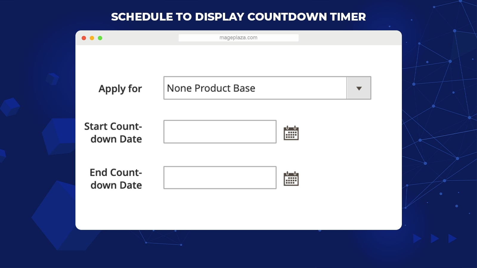 Magento 2 countdown timer extension