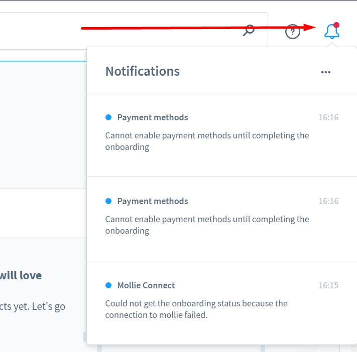 Shopware 6 backend: alerts and system messages