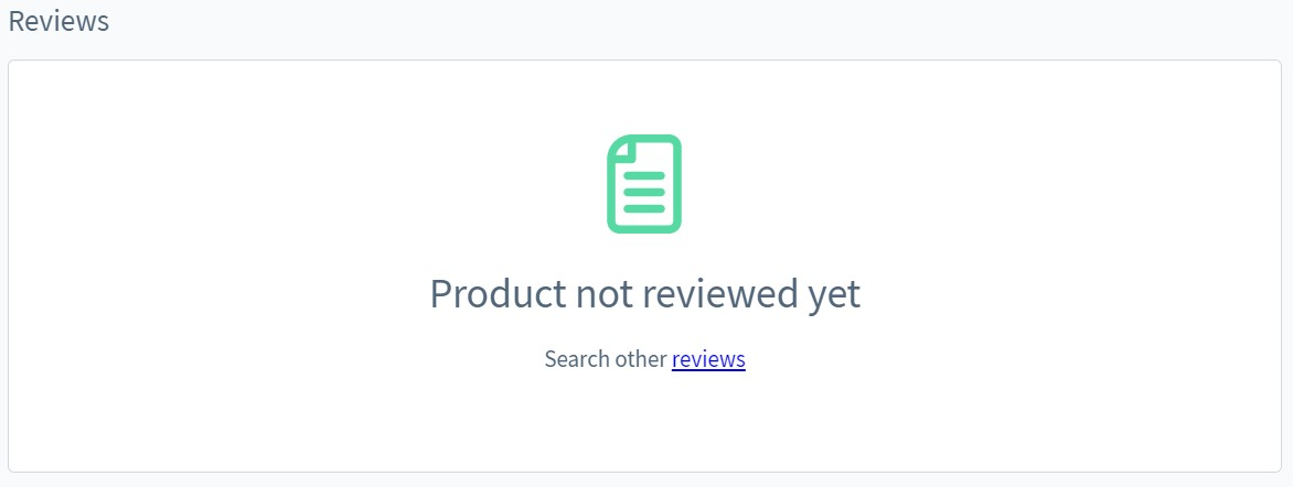 Shopware 6 product page